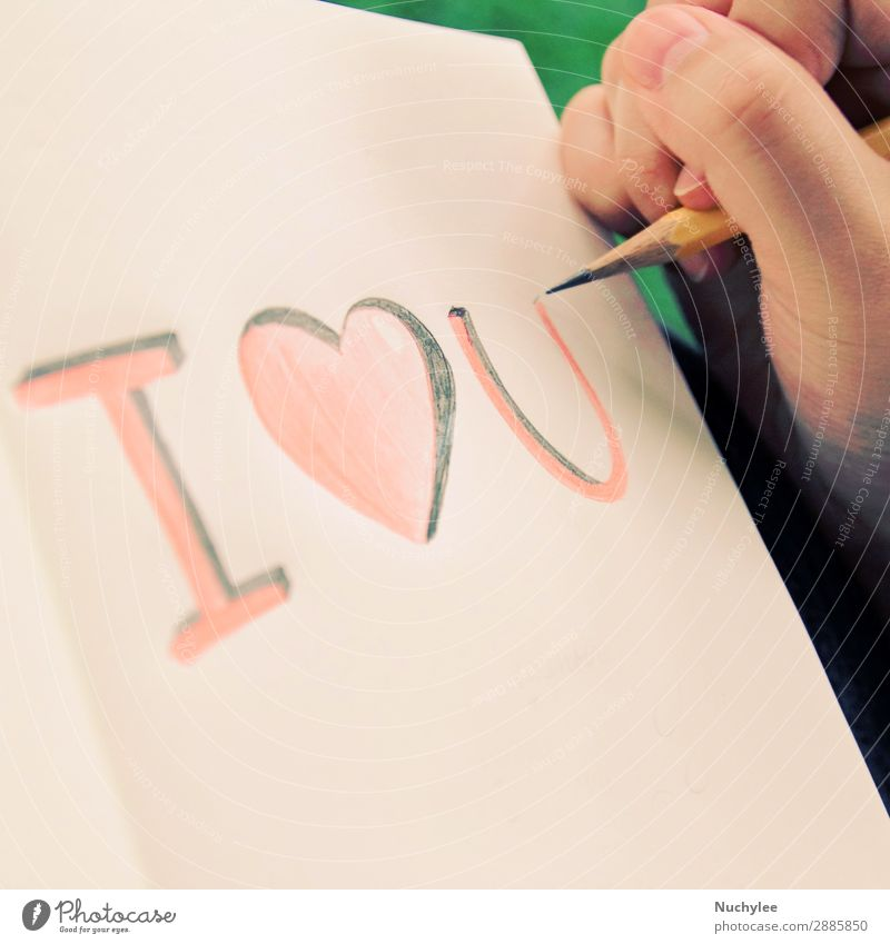 handwriting, i love you on the notebook background calligraphy concepts creativity day design document drawing equipment greeting happy heart ideas imagination