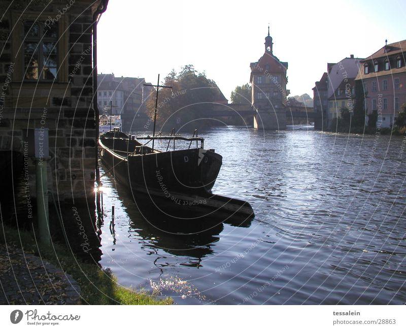 morning romance Romance Sunrise Watercraft Architecture River Tower Bridge