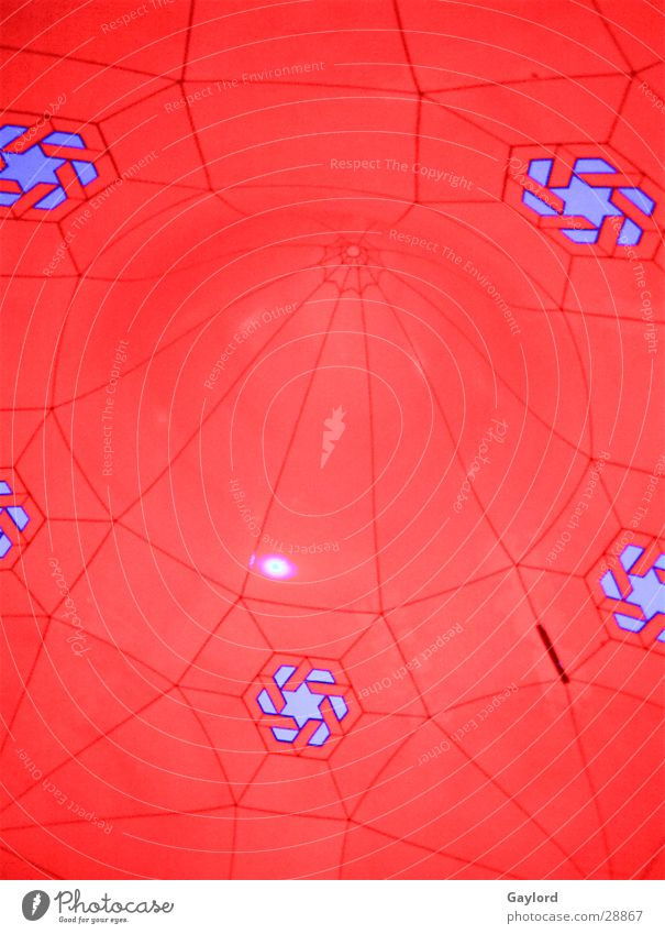 luminarium Red Pattern Art Obscure