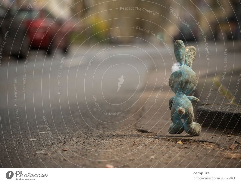 Hare dirty at the roadside Healthy Smoking Intoxicant Alcoholic drinks Feasts & Celebrations Easter Child Toddler Means of transport Traffic infrastructure