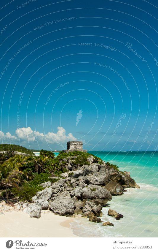 Tulum, Yucatán, Mexico Vacation & Travel Tourism Trip Far-off places Sightseeing Expedition Summer Summer vacation Beach Ocean Caribbean Sea Honeymoon Wedding