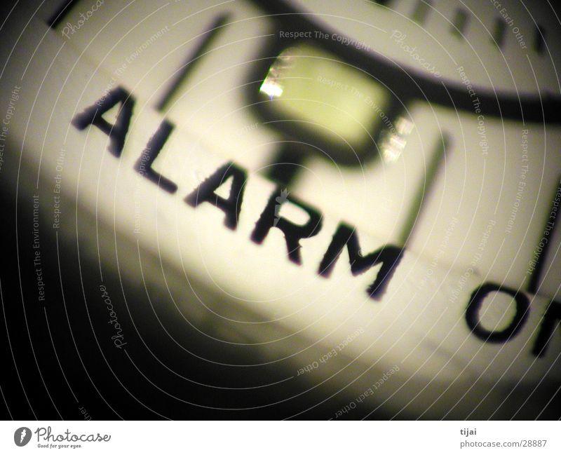 Clock Alarm Pottery
