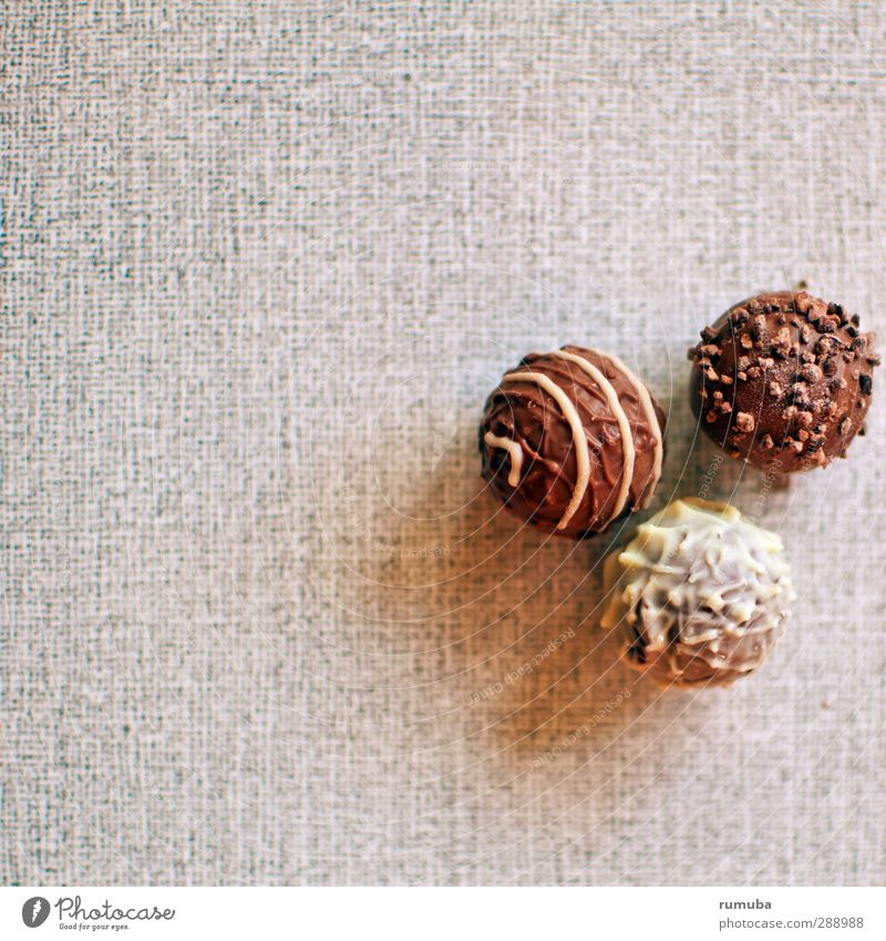 chocolates Dessert Candy Chocolate Eating To enjoy Sweet To console Self Control Round 3 Chopping board Decoration Delicious Calorie Confectionary Colour photo