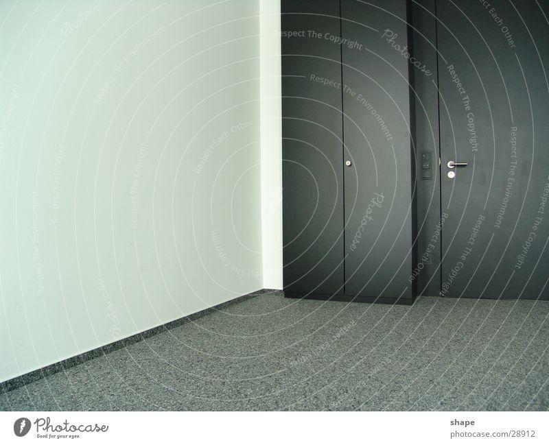 White Black Dark Wall (building) Gray Bright Room Door Closed Free Modern Empty Carpet Cupboard Golden section Wardrobe door