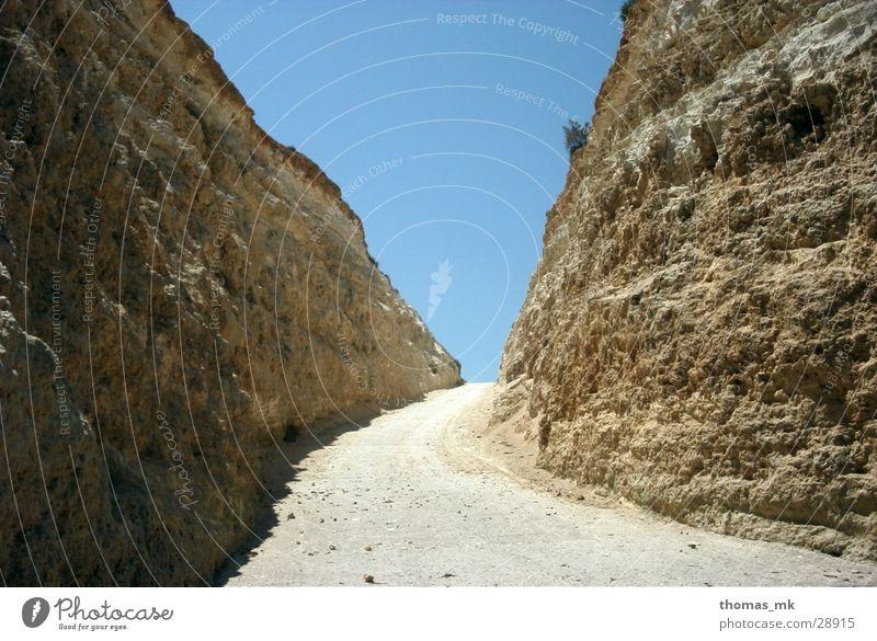 Sky Lanes & trails Sand Rock Canyon Exit route Malta