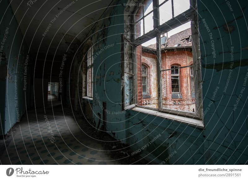 Sanatoriums Beelitz inspire lost place House (Residential Structure) Colour photo Deserted Interior shot Decline Ruin Transience Building Old Architecture