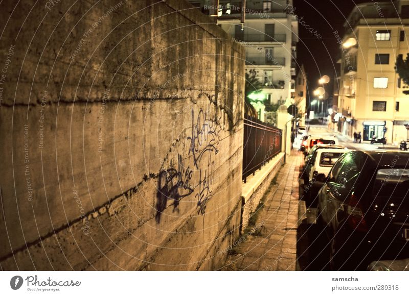nocturnal streets Small Town Port City Downtown Outskirts Old town Deserted House (Residential Structure) Building Architecture Wall (barrier) Wall (building)