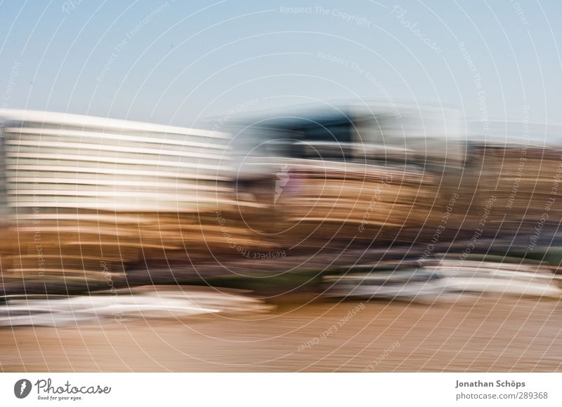 whoosh London England Great Britain Manmade structures Building Movement Speed Speed rush Grow hazy Themse Motion blur Stripe Colour photo Exterior shot