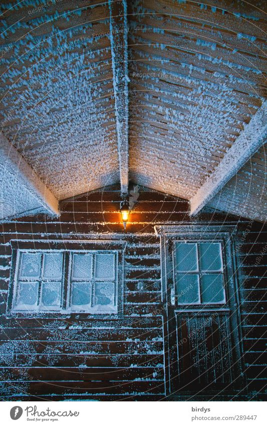 City Winter Window Cold Snow Ice Door Climate Illuminate Living or residing Change Frost Protection Hut Bizarre Terrace