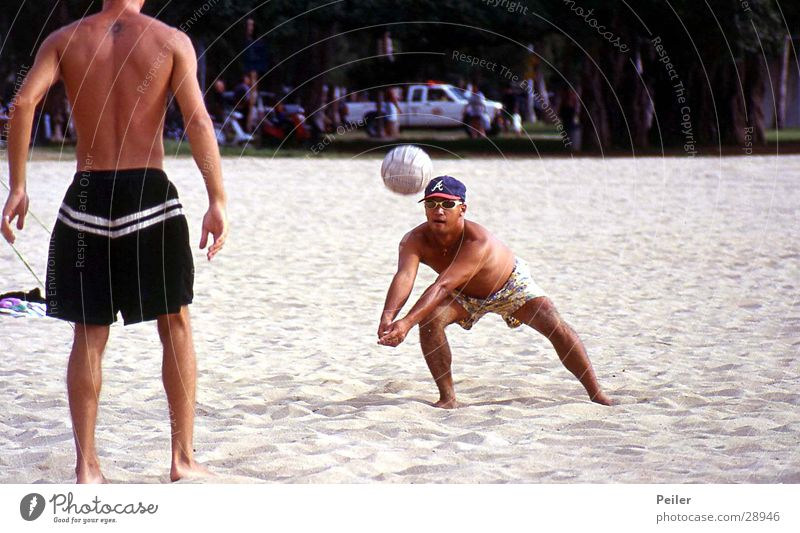 Beach Sports Sand Ball Volleyball (sport) Hawaii