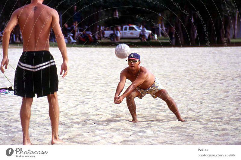 Beach volleyball in Hawaii Volleyball (sport) Sports Ball Sand fun
