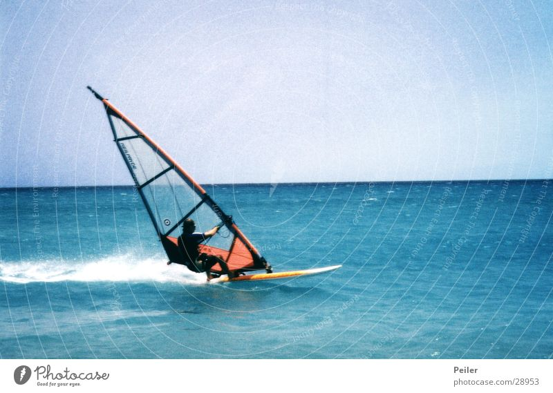 Water Ocean Waves Wind Surfer Surfboard Extreme sports Windsurfing