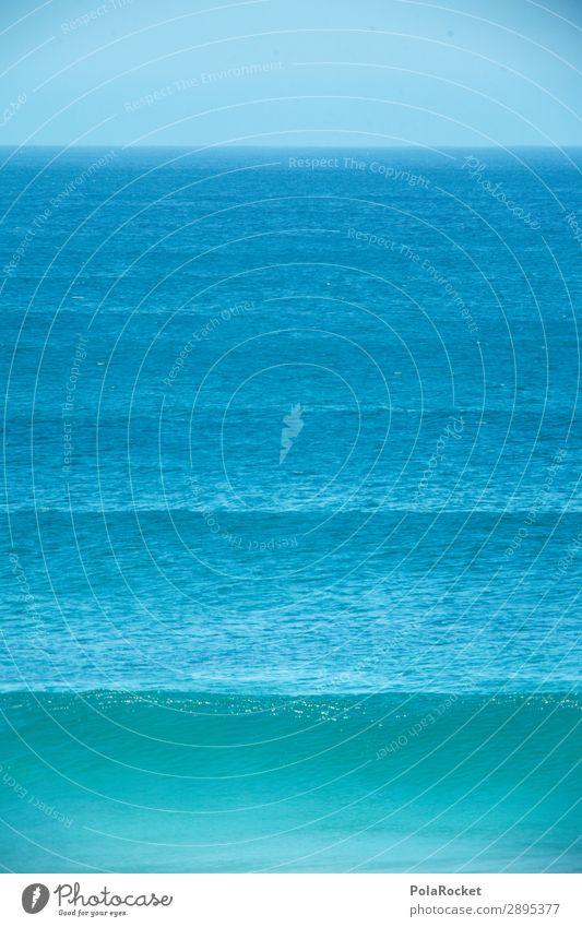 #A# swell Environment Nature Beautiful weather Esthetic Waves Surfing Surfer Surfboard Surf school Ocean Undulation Symmetry Blue Fuerteventura Colour photo