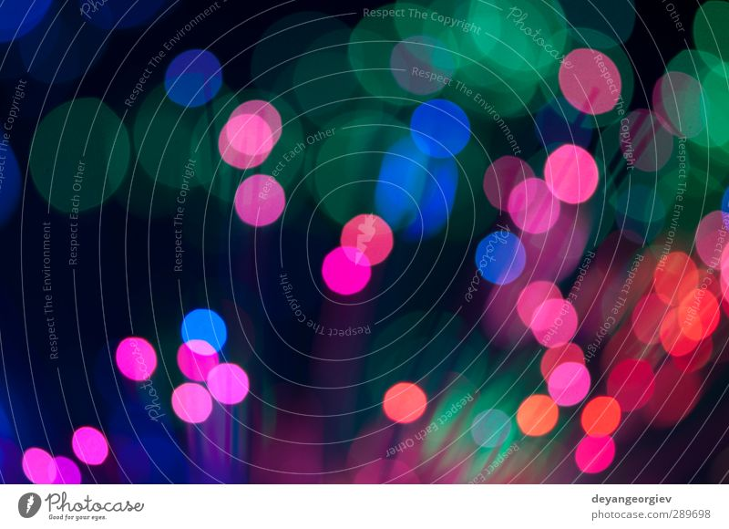 Blue and pink festive lights and circles background Design Decoration Feasts & Celebrations Sphere Glittering Bright Modern Soft Pink Colour christmas