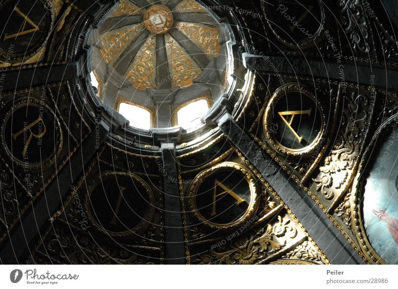 Hail Mary Window Domed roof Ave Maria Letters (alphabet) Virgin Mary Visual spectacle House of worship Blanket Religion and faith church ceiling E Shadow