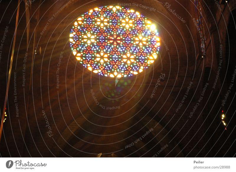 Black Colour Lamp Dark Window Religion and faith Glass Glow House of worship Beam of light