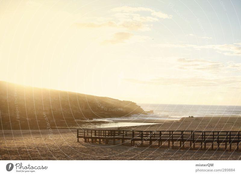 Unreal Times. Art Esthetic Ocean Beach Paradise Peaceful Paradisical Portugal Vacation & Travel Vacation photo Vacation destination Vacation mood Sky