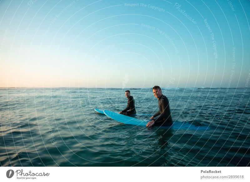 #ATE# after work Art Surfing Surfer Surfboard Surf school Friendship Ocean Freedom Blue Swell Relaxation Vacation & Travel Vacation photo Vacation mood