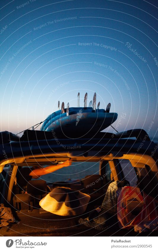 #A# call it a day Art Esthetic Surfing Surfer Surfboard Surf school Relaxation Idyll Car Vacation & Travel Vacation photo Vacation mood Vacation good wishes
