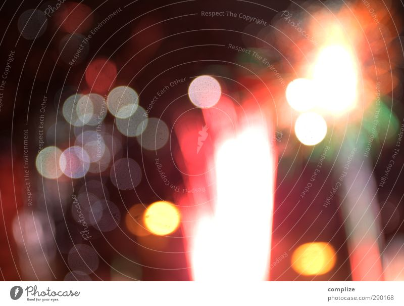 rocket Night life Entertainment Feasts & Celebrations New Year's Eve Event Beautiful Blur Rocket Colour photo Exterior shot Experimental Deserted