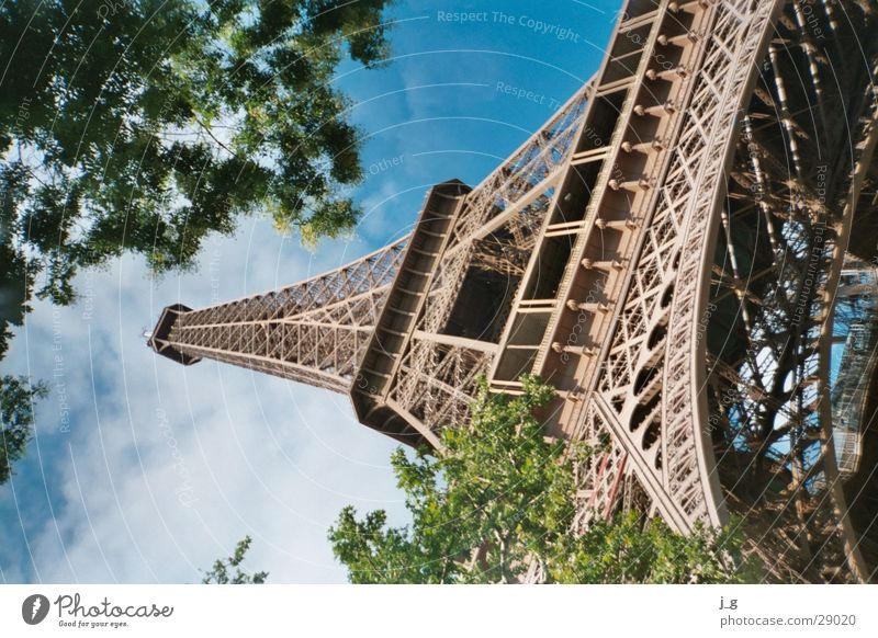 Eiffel Tower Paris Landmark Eifel France Iron Architecture Metal