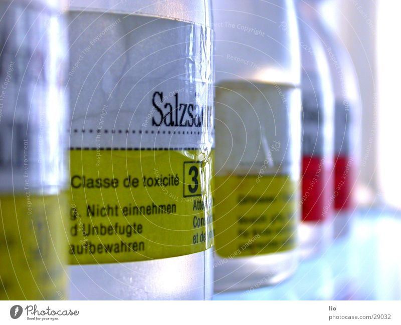 Science & Research Attempt Poison Laboratory Chemistry Acid Salt acid