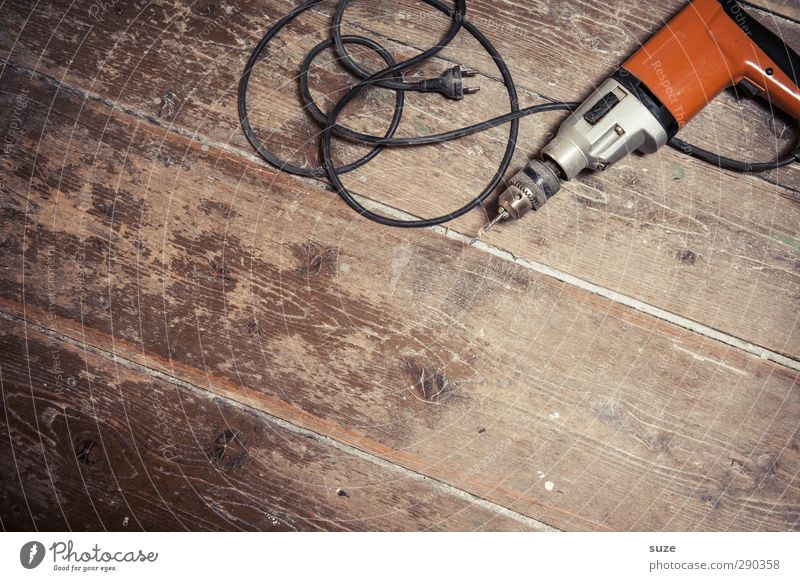 Old Wood Brown Metal Lie Work and employment Orange Masculine Dirty Leisure and hobbies Authentic Floor covering Cable Construction site Simple Past