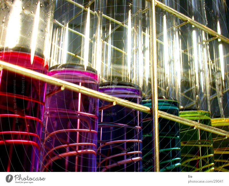 rainbow Test tube Experimental Science & Research Laboratory Prismatic colors Multicoloured ph-values Chemistry Attempt Glass