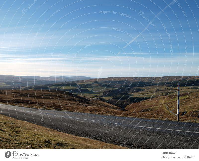 Roadtripper Weardale. Trip Adventure Far-off places Sky Clouds Horizon Moss Meadow Field Hill Motoring Street Lanes & trails Longing Homesickness Wanderlust