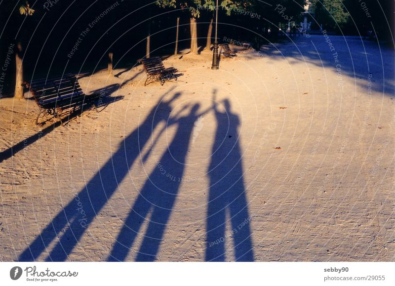 shadows in madrid Light Friendship Sunset Madrid Europe Shadow