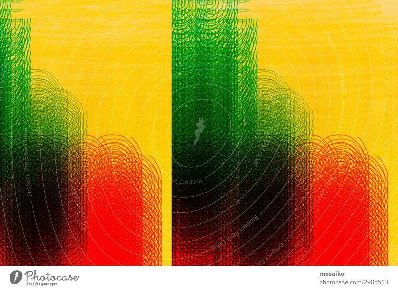 colour play Art Graffiti Line Movement Relationship Accuracy Inspiration Communicate Creativity Network Symmetry Frequency Spiral Circle Green Red Yellow Music