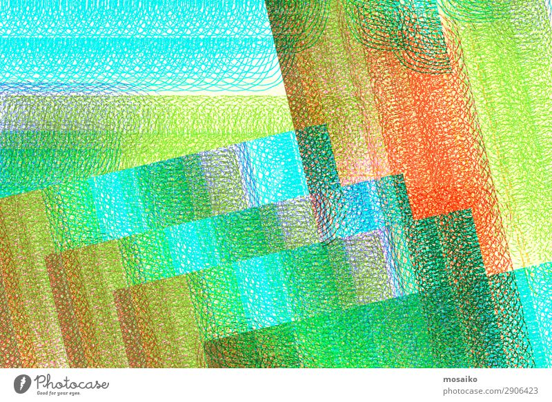 abstract design - colourful spirals - graphic shapes Lifestyle Elegant Style Design Exotic Art Work of art Idea Communicate Complex Concentrate Power Creativity