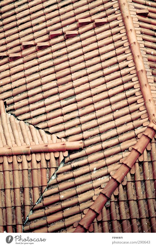 roof lines House (Residential Structure) Manmade structures Roof Town Red Roofing tile Line Pattern Regular Dormer Bird's-eye view Weather protection