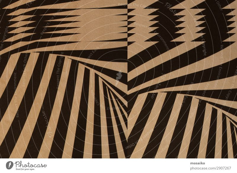 black stripes on paper texture - background design Black Lifestyle Happy Feasts & Celebrations Style Art Playing Brown Design Contentment Decoration Retro Dream