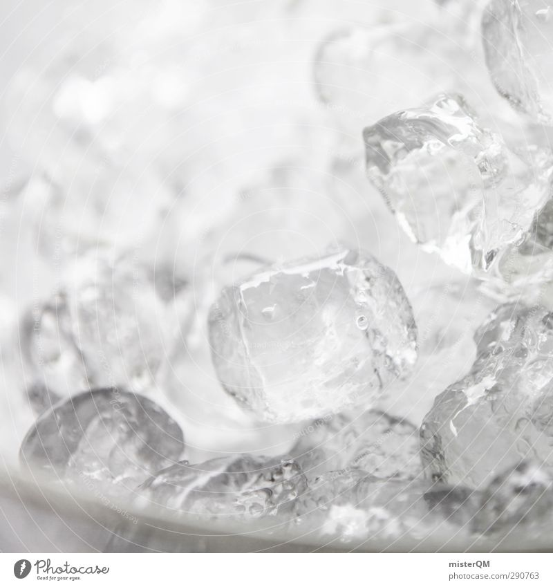Ice Ice Baby. Lifestyle Esthetic Ice cube Cocktail Cocktail bar Cooling Cool (slang) Many Temperature Cold Cold shock Minus degrees Colour photo