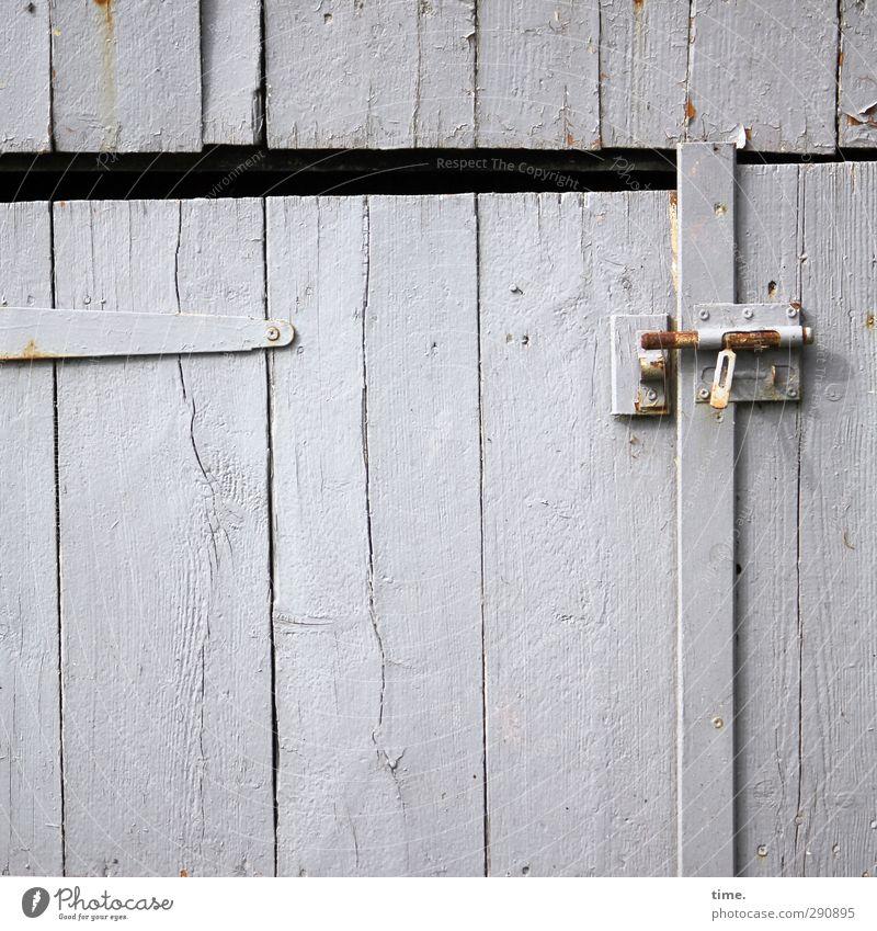 Old Wood Moody Door Broken Change Transience Uniqueness Creativity Hut Decline Crack & Rip & Tear Trashy Lock Garage Barn