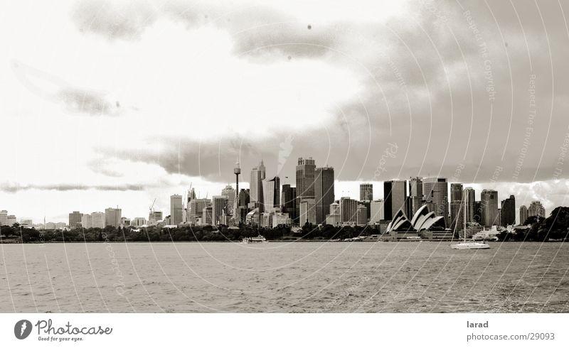 City Clouds Landscape Moody Australia Sydney