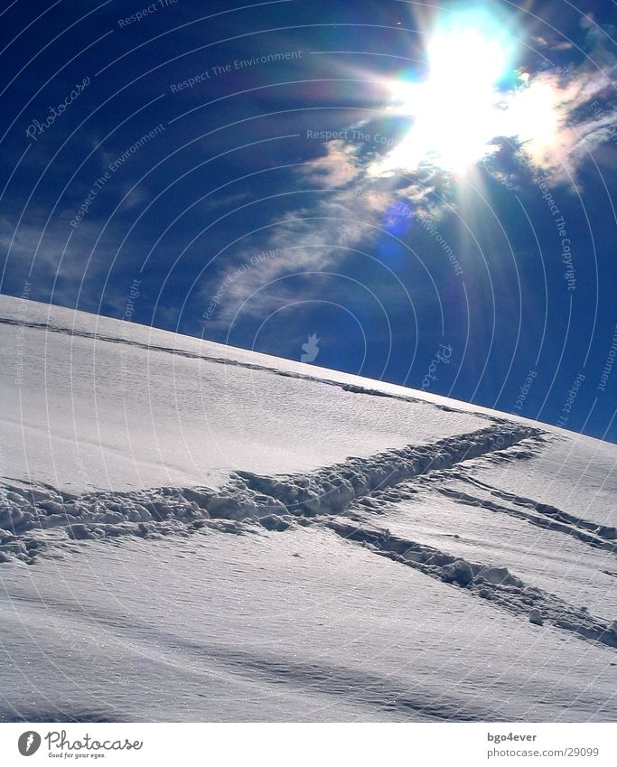 Sun Snow Mountain Tracks