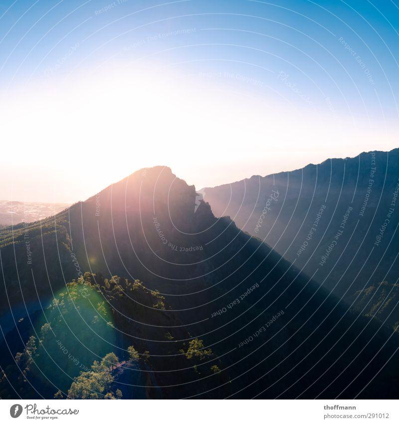 La Palma Leisure and hobbies Vacation & Travel Trip Adventure Freedom Island Climbing Mountaineering Cycling Bicycle Nature Landscape Sky Horizon Sun Sunlight
