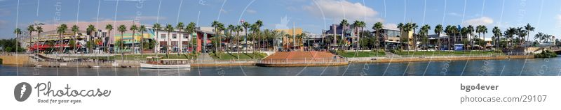 City-Walk Universal Studios Orlando Florida city walk Panorama (View) Amusement Park