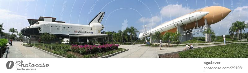 Astronautics Panorama (Format) Rocket Florida Orlando Space Shuttle Kennedy Space Center