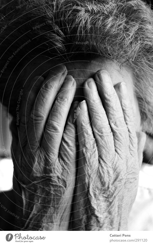 Human being Woman Old Hand Life Senior citizen Feminine Sadness Gray 60 years and older To hold on Female senior Wrinkle Near Curl Hide