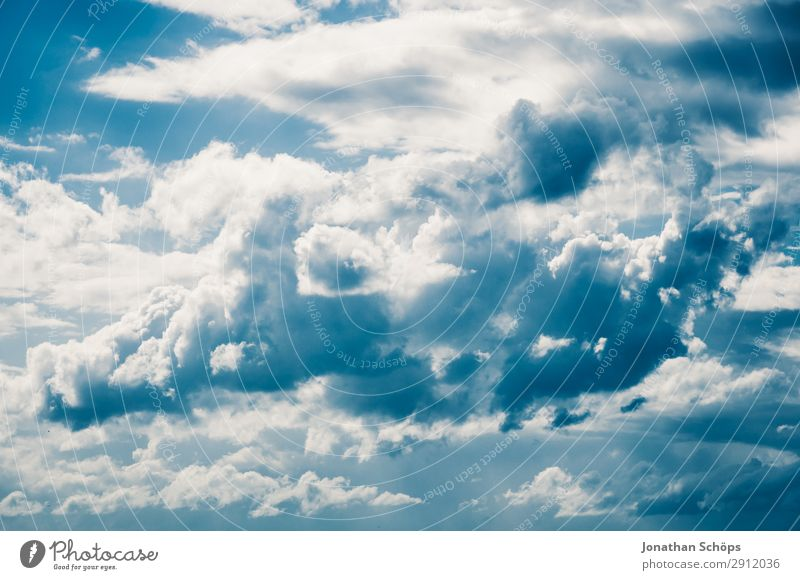 impressive cloudy sky Beautiful Sky only Clouds White Edinburgh Great Britain Background picture Scotland Blue sky Cloud formation Heaven Skyward Canopy (sky)