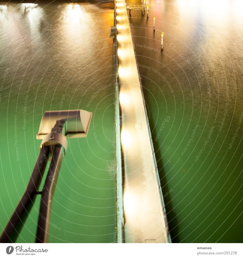 Vacation & Travel Green Water Ocean Street Coast Lake Lighting Lamp Bright Waves Trip Bridge Tower Technology Harbour