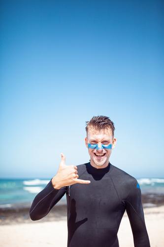 Summer Ocean Art Esthetic Summer vacation Surfing Surfer Surfboard Surf school