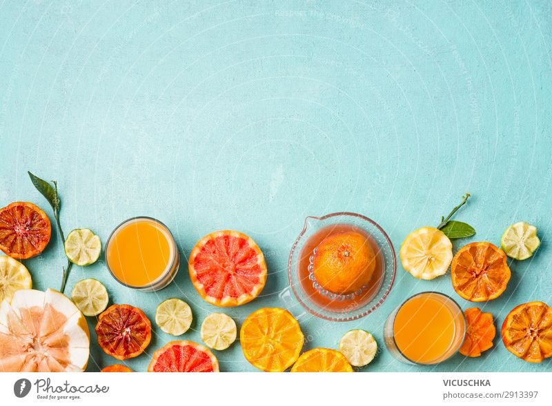 Citrus fruits and juice Food Fruit Orange Nutrition Breakfast Organic produce Beverage Drinking Juice Crockery Style Design Healthy Healthy Eating