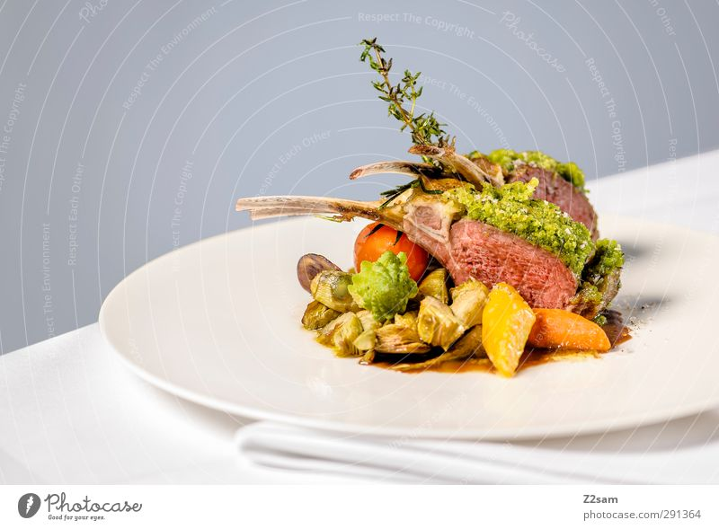 lamb Meat Vegetable Nutrition Italian Food Luxury Style Esthetic Fragrance Elegant Fresh Healthy Delicious Modern Natural Clean Multicoloured Gray Design