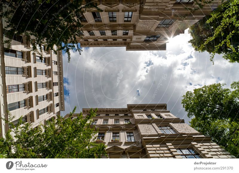 Sky Relaxation House (Residential Structure) Window Wall (building) Berlin Architecture Wall (barrier) Building Door Facade Manmade structures Balcony