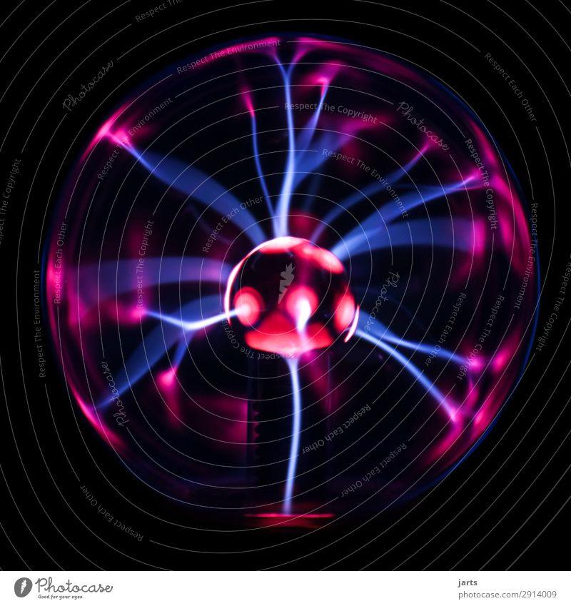 plasma lamp Technology Illuminate Exceptional Hot Energy plasma ball Lightning globe Tesla Colour photo Interior shot Studio shot Close-up Deserted