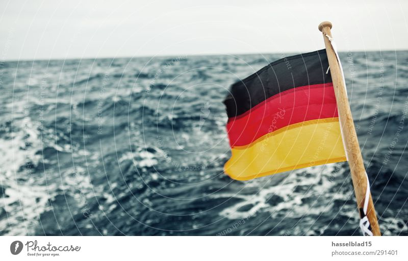 Vacation & Travel Water Ocean Far-off places Environment Freedom Wind Waves Climate Tourism Island Adventure Wellness German Flag Dive
